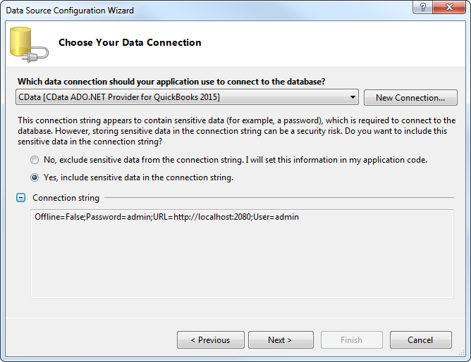 OLAP Reporting Directly from QuickBooks using ComponentOne OLAP for