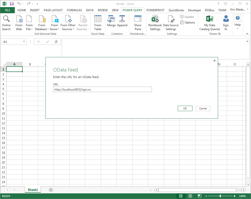 Import Sage 50 UK Data into Microsoft Power Query