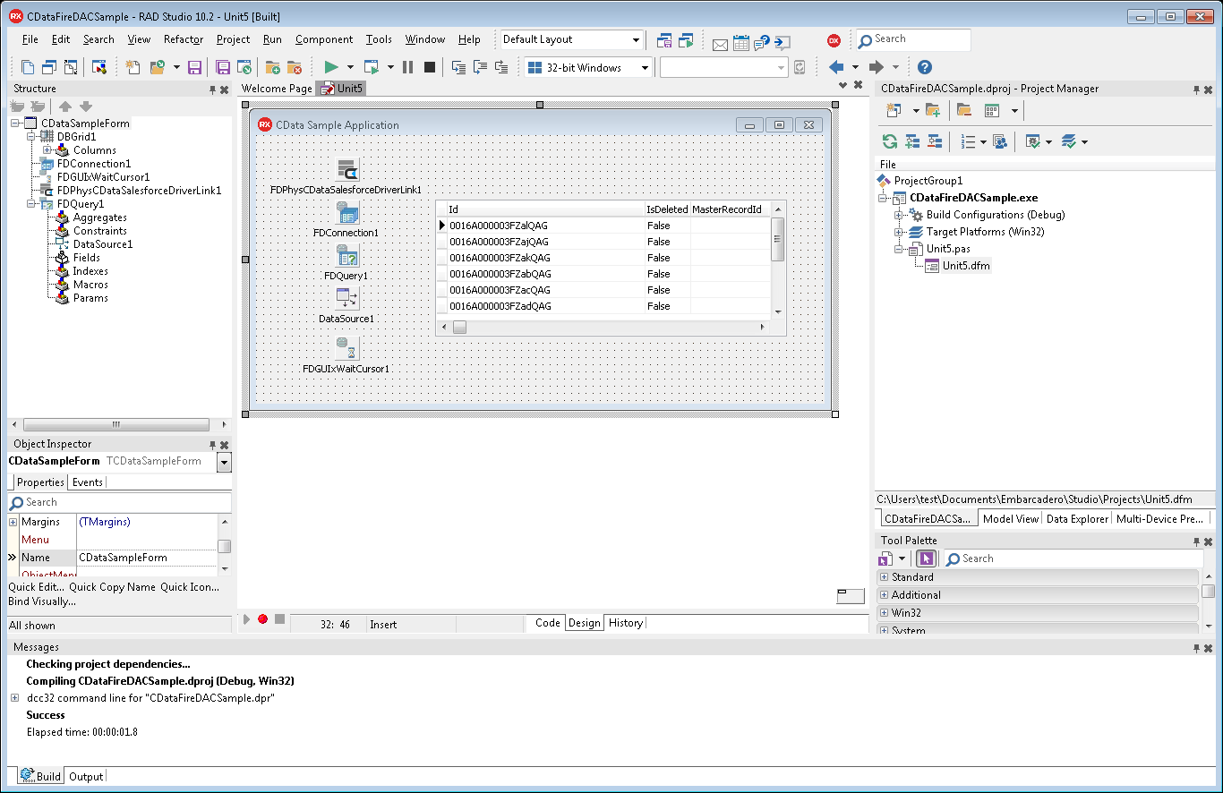 Build a Simple VCL Application for Magento Data