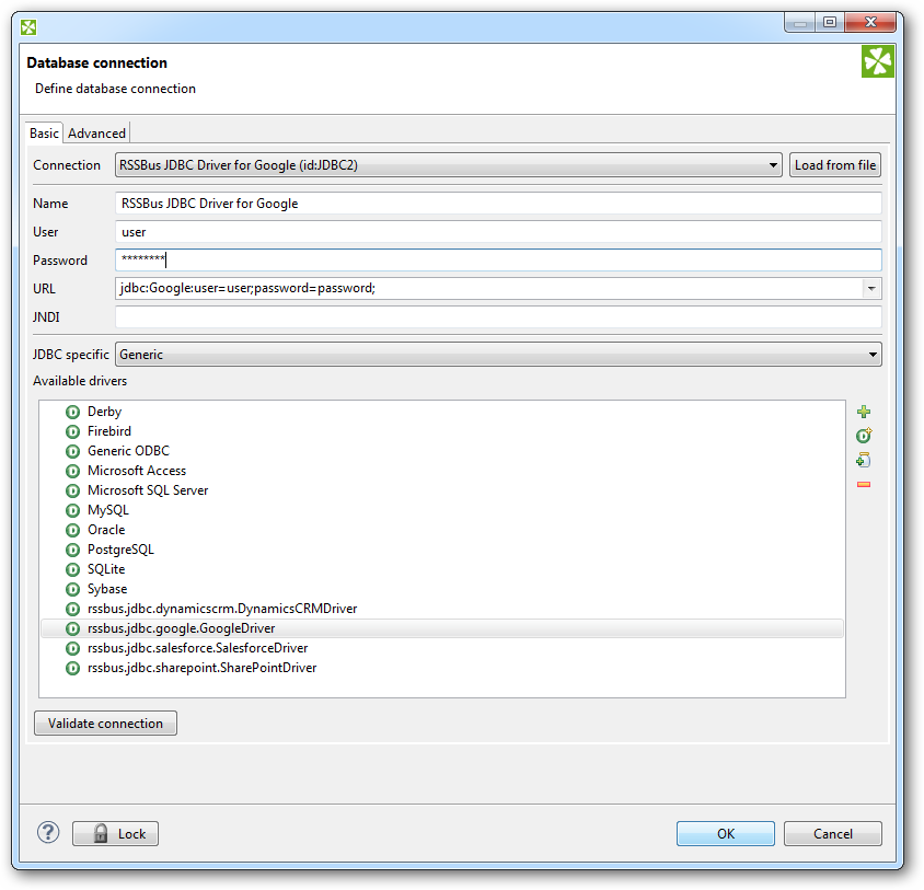 Use CloverETL and CData JDBC Drivers to Transfer Data