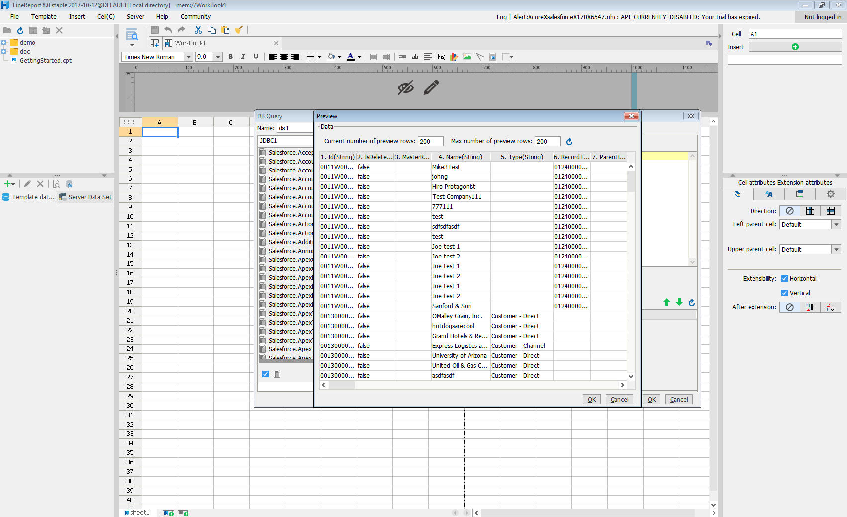 Feed Zendesk Data into FineReport