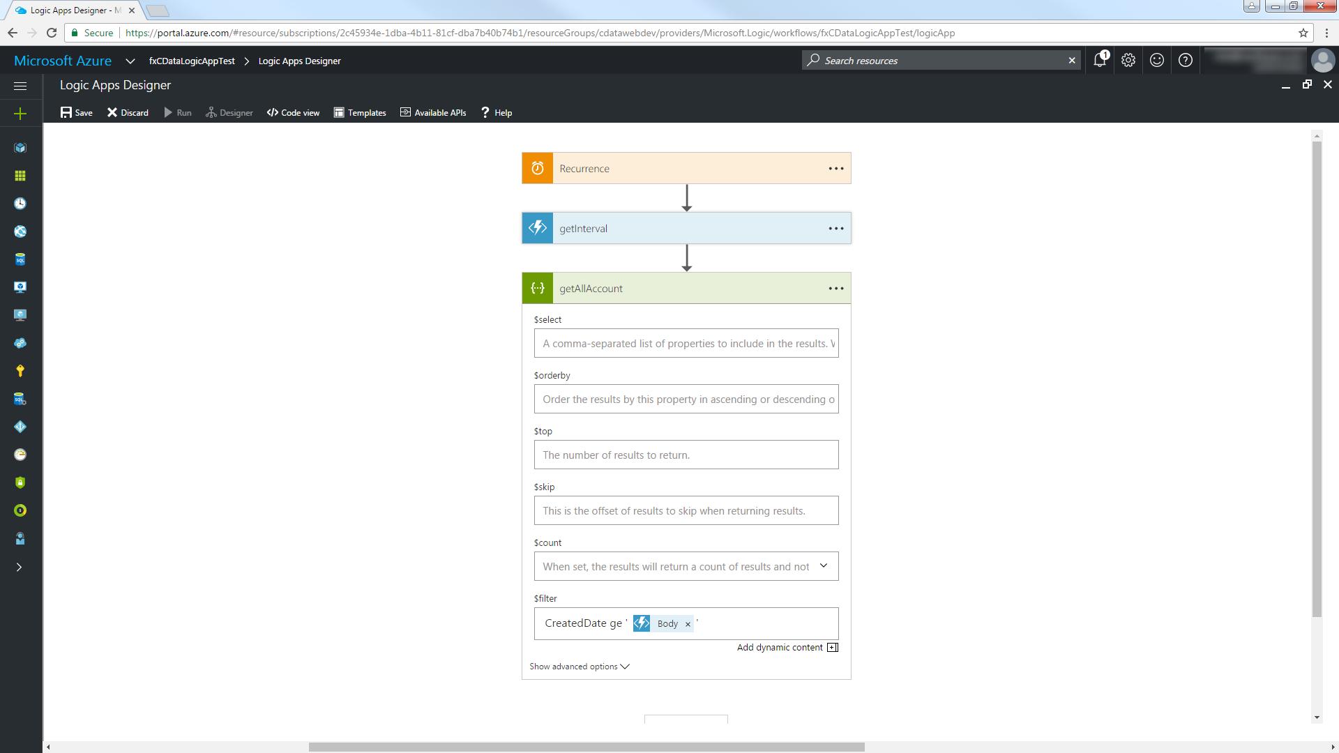 Trigger NetSuite IFTTT Flows in Azure App Service