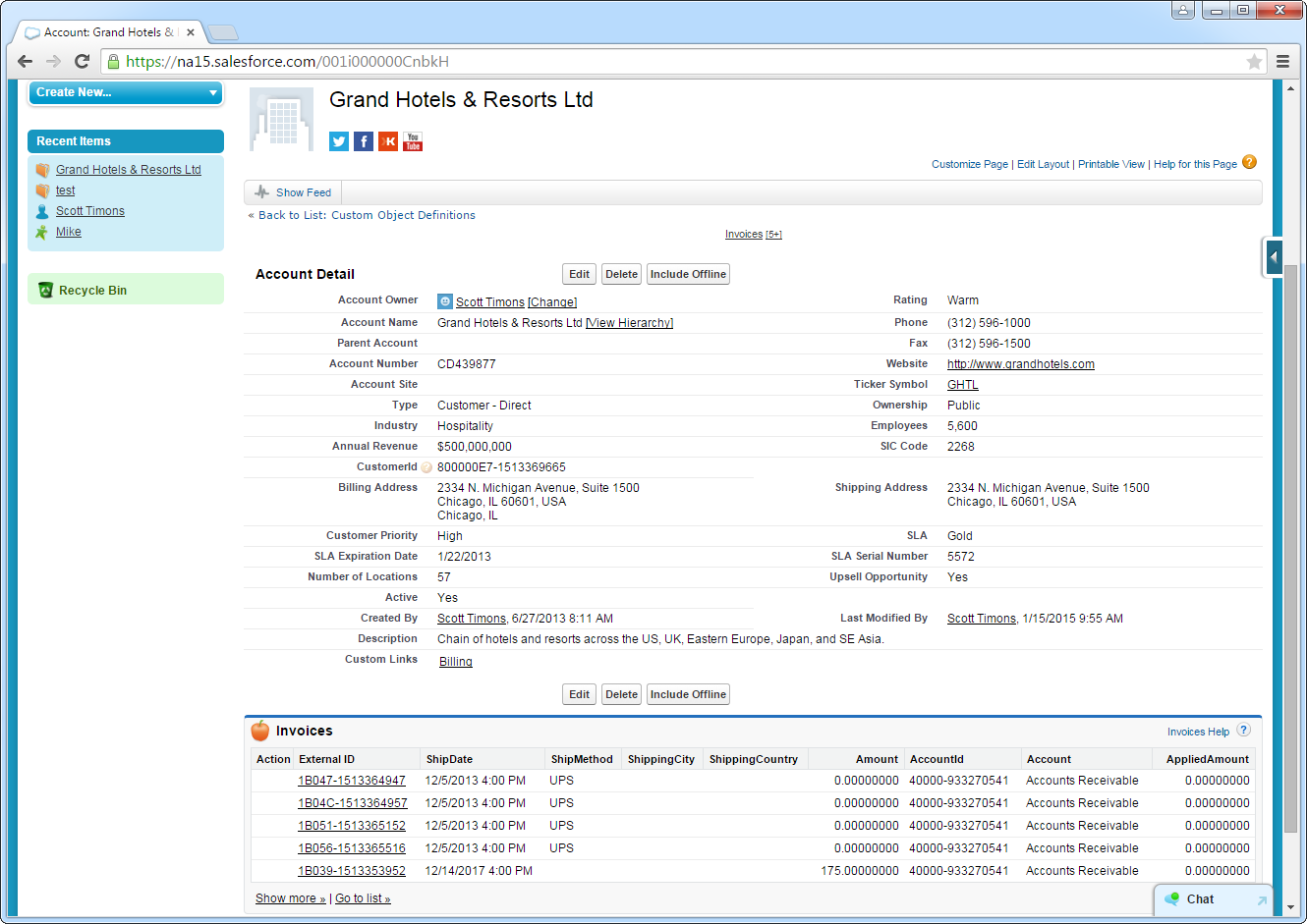 Edit and Search NetSuite External Objects in Salesforce
