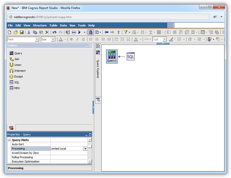 Create Data Visualizations in Cognos BI With Microsoft