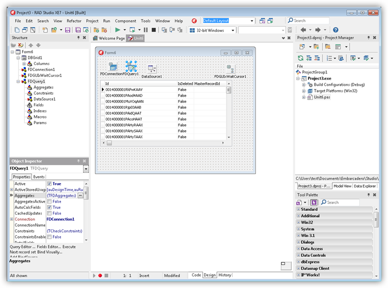 DataBind Controls to Excel Data in Delphi