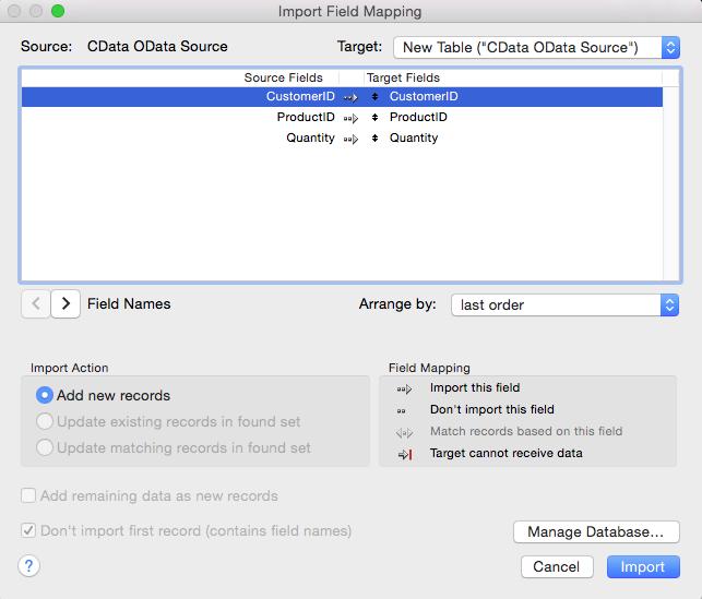 Import Dynamics NAV Data into FileMaker Pro
