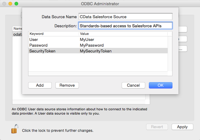 Using CData ODBC Drivers in Mac & Linux/Unix Environments