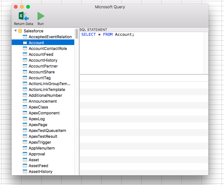Work with JSON Services in MS Excel on Mac OS X