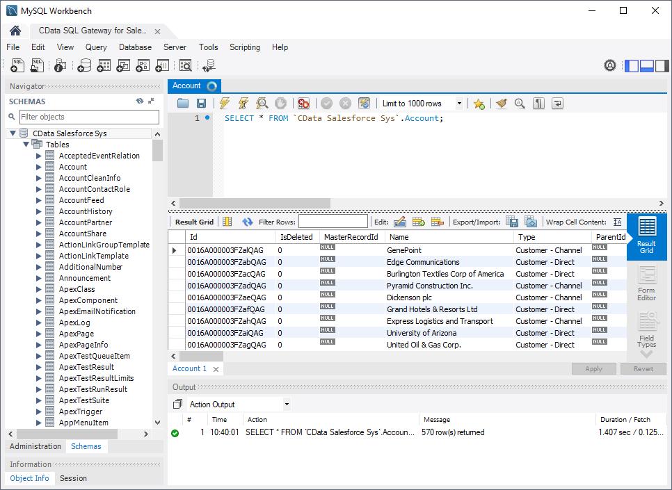 Query CSV Data in MySQL Workbench