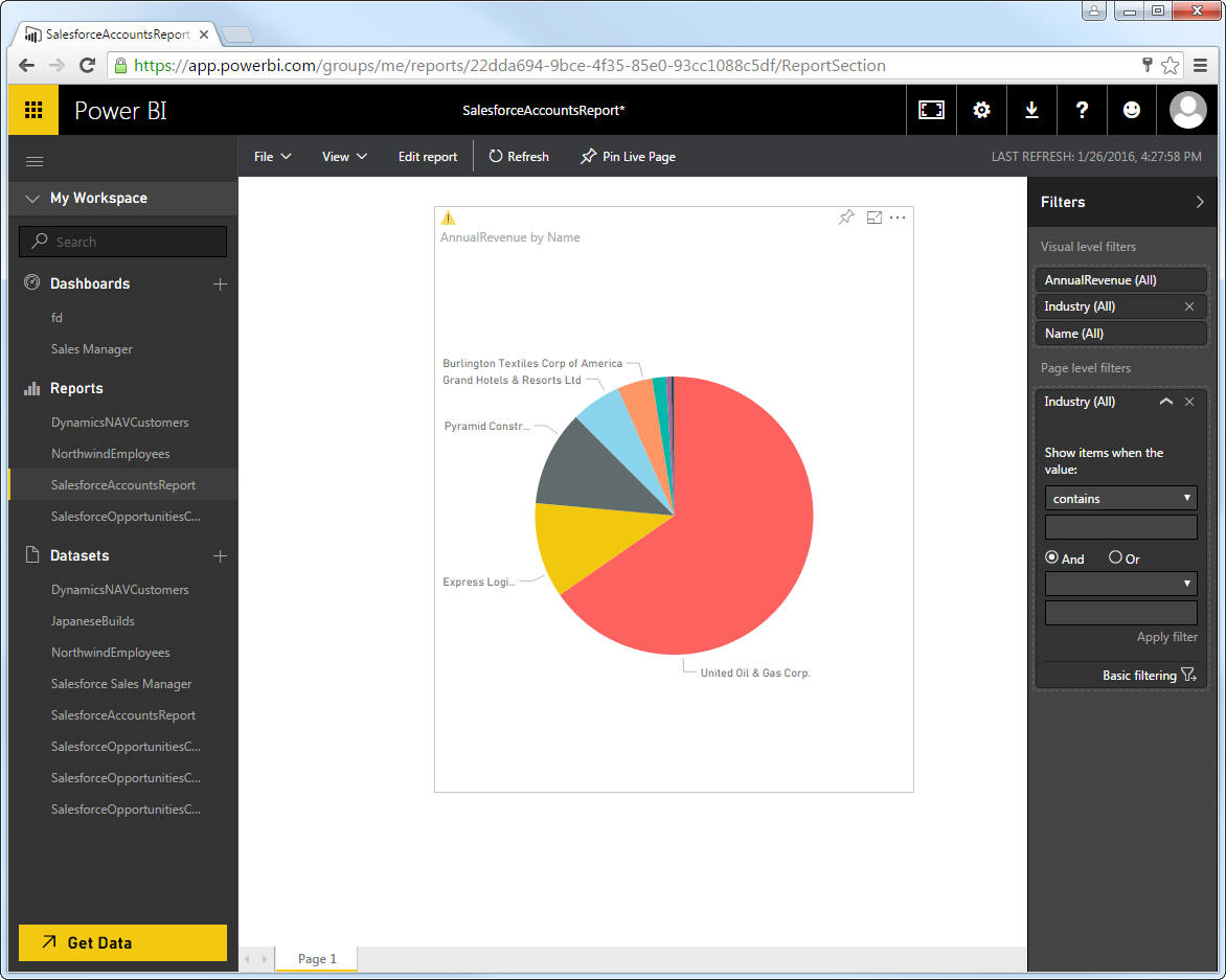Author and Share Power BI Reports on Real-Time Google Sheets Data