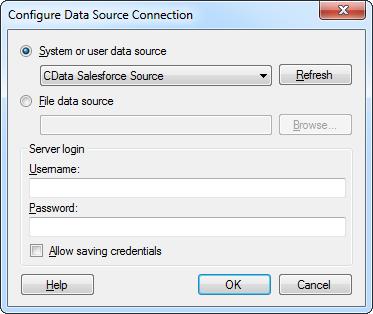 Visualize BigQuery Data in TIBCO Spotfire through ODBC