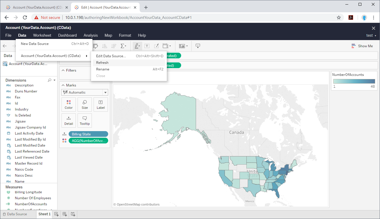 Publish and Share SharePoint Data Dashboards with Tableau Server