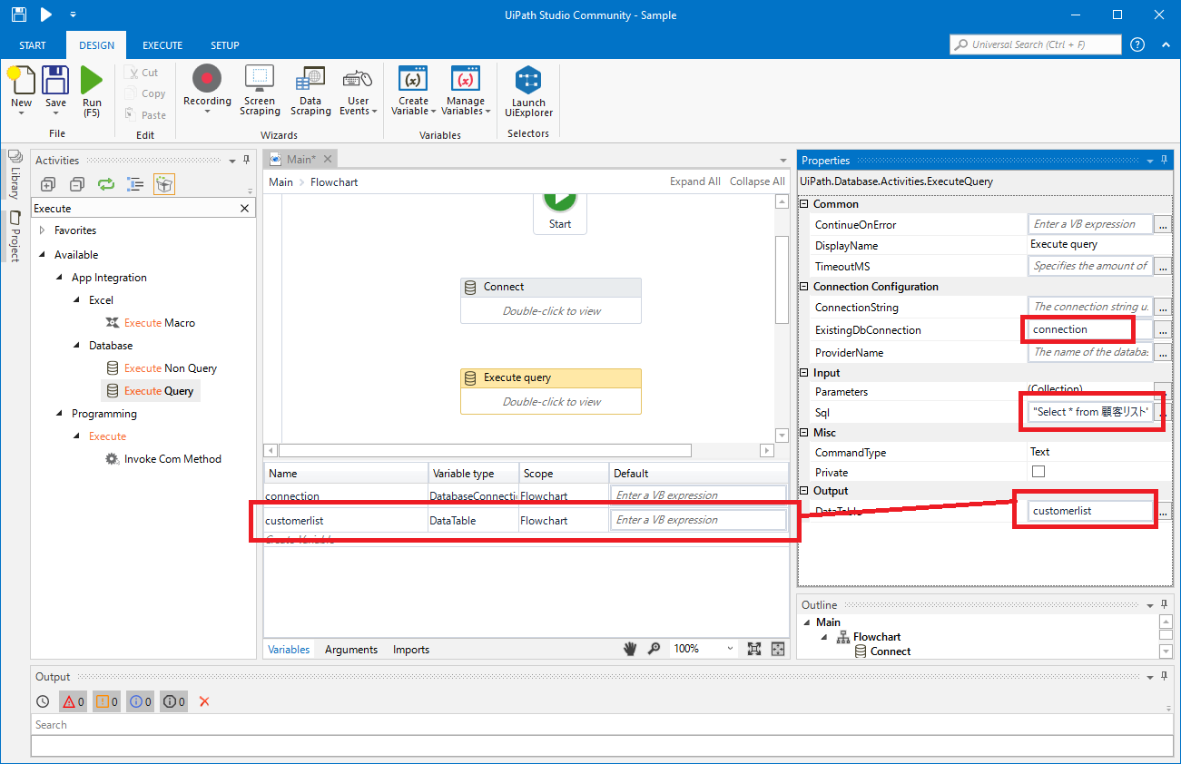 Create an RPA Flow that Connects to Xero Data in UiPath Studio