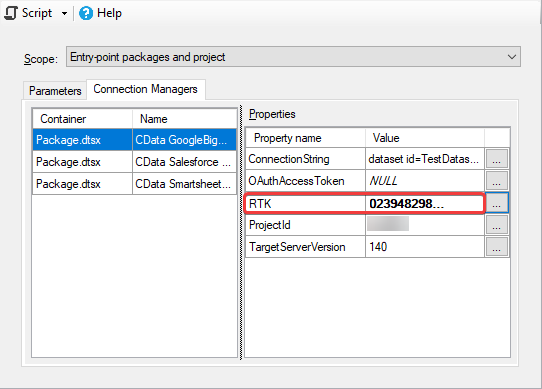Deploy CData SSIS Components on Azure Data Factory