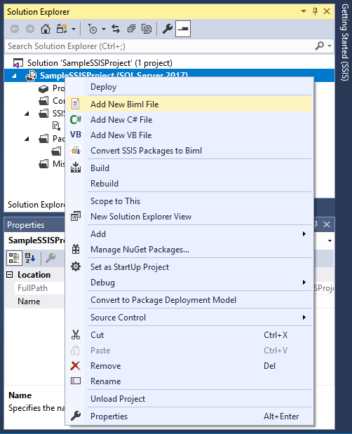 Use Biml to Build SSIS Tasks to Replicate JSON Services to SQL Server