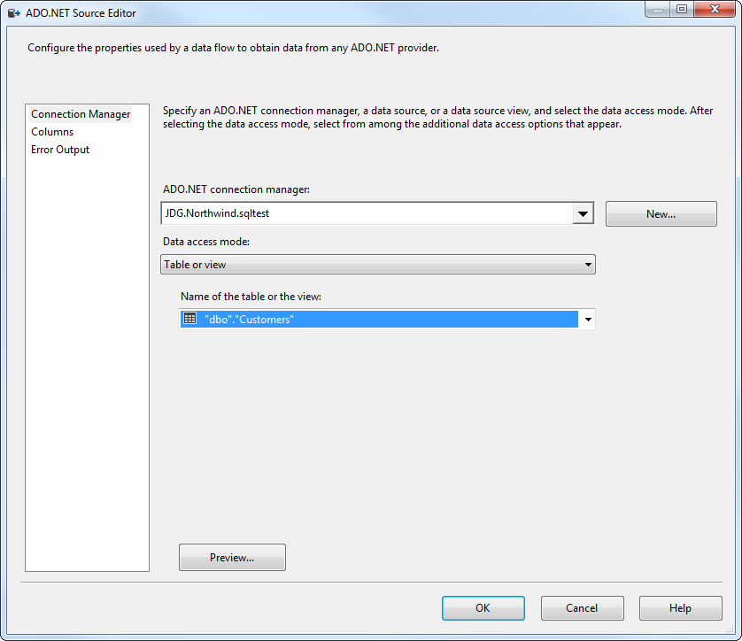 Export Data from SQL Server to Google Sheets through SSIS