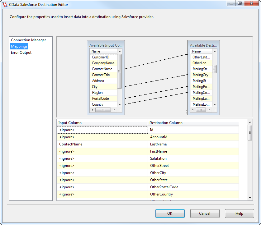 ssis framework template - export data from sql server to sugar crm through ssis