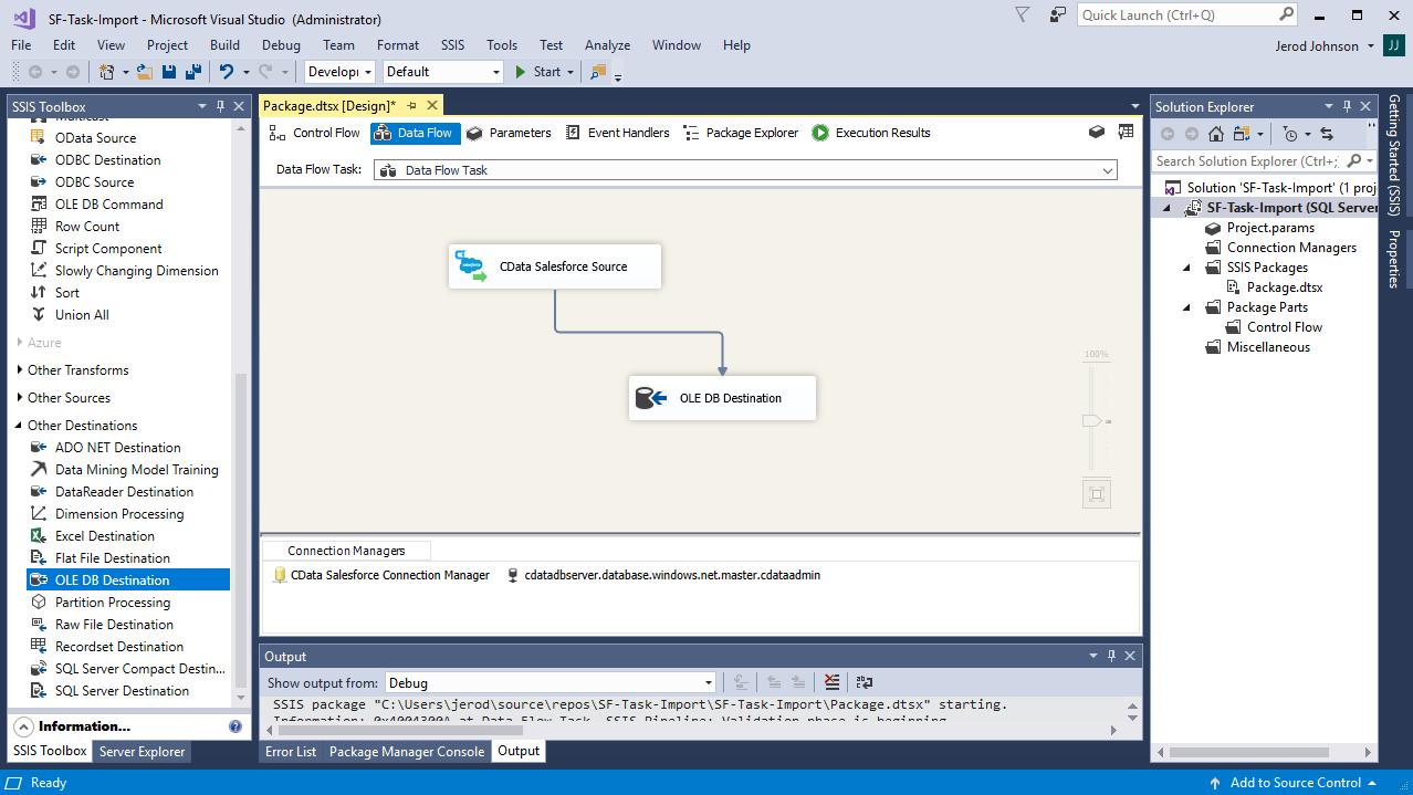 Import Elasticsearch Data into SQL Server using SSIS