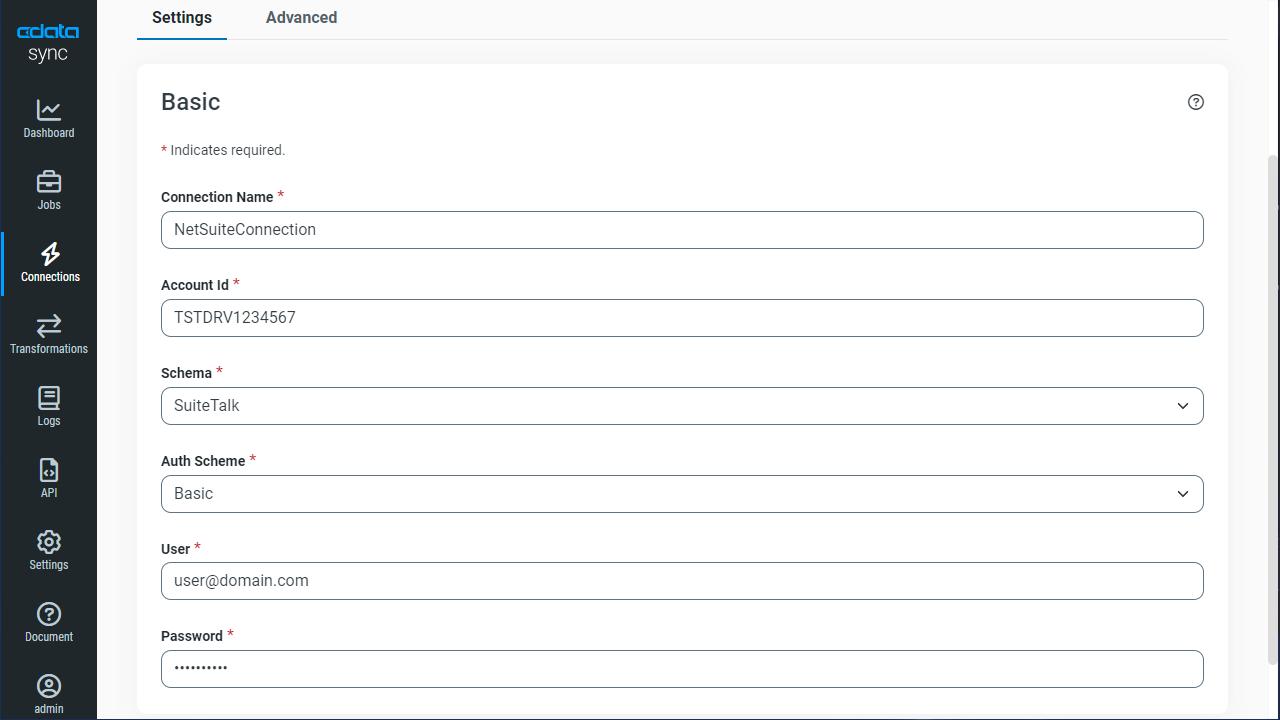 Replicate E*TRADE Data for Use in Salesforce Connect