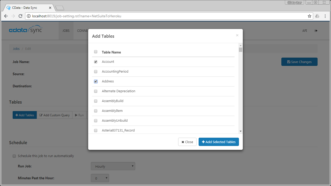 Replicate ServiceNow Data for Use in Salesforce Connect