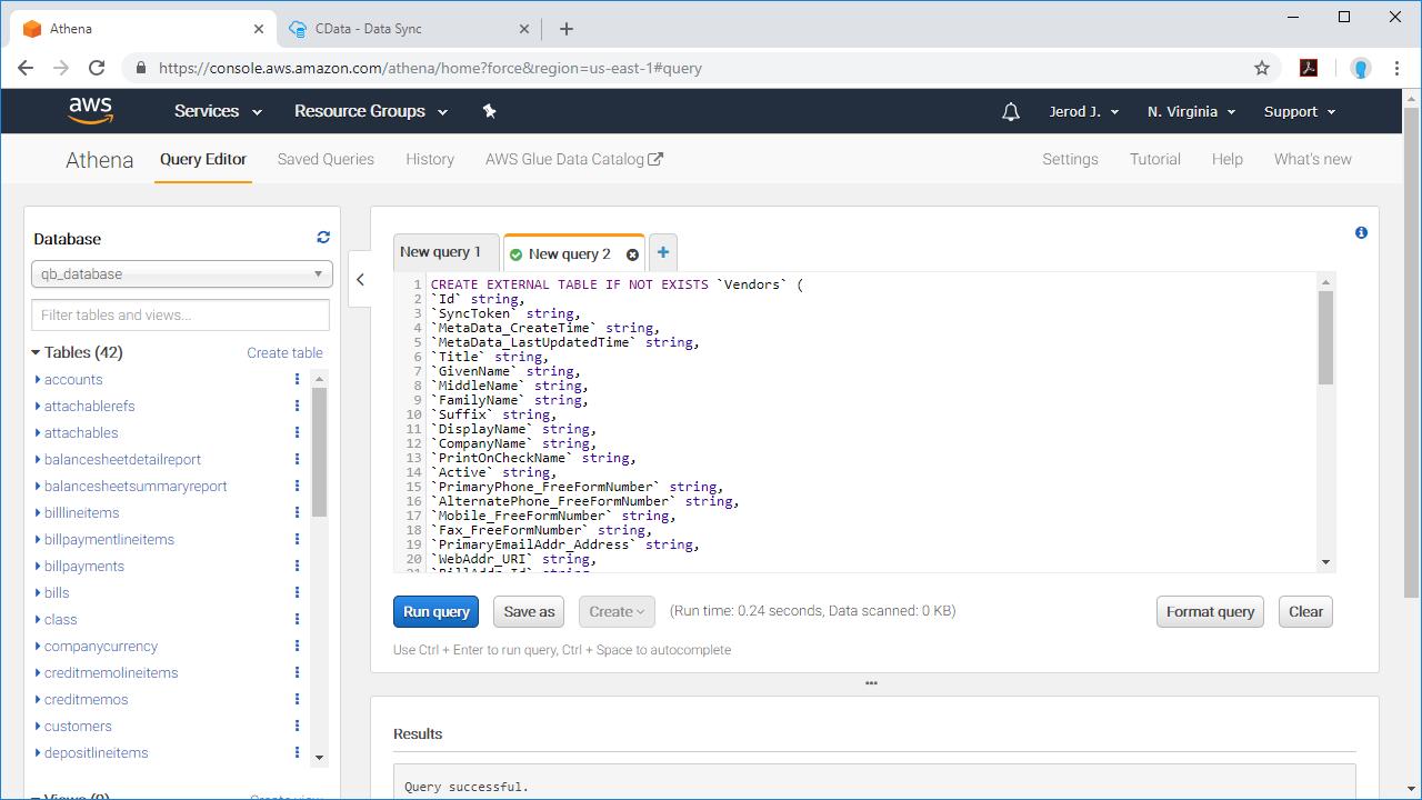 Use CData Sync to Replicate Data to Amazon S3