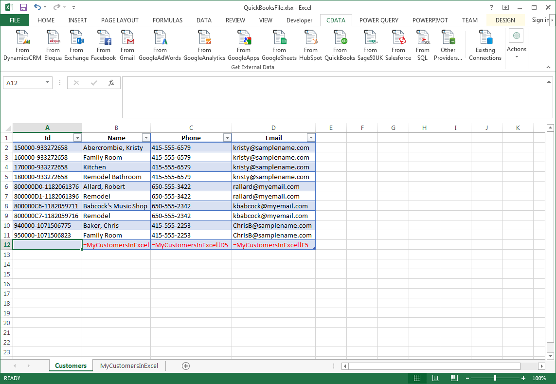 Transfer Data from Excel to Cosmos DB