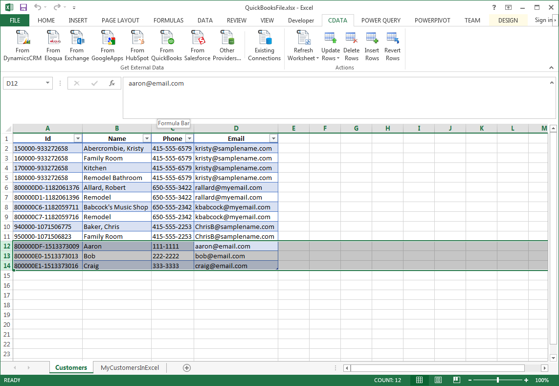 Transfer Data from Excel to Google Sheets