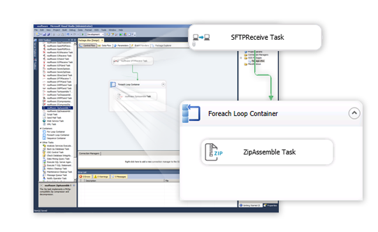 SQL SSIS Components | SSIS Data Flow Components CData Software